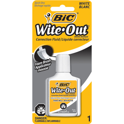 Wite-Out Correction Fluid, 22 ml