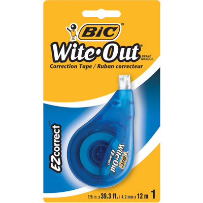 Wite-Out Correction Tape, 12M